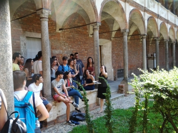 Ξενάγηση Ιστορικού κτήριου Πανεπιστημίου Μιλάνου