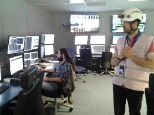 Control room του ανιχνευτή CMS στο CERN