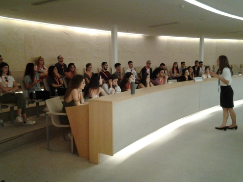 Επίσκεψη στον ΟΗΕ στη Γενεύη 1