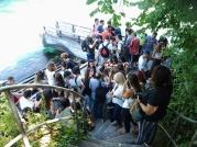 Περιμένοντας τη βάρκα στο Ρήνο